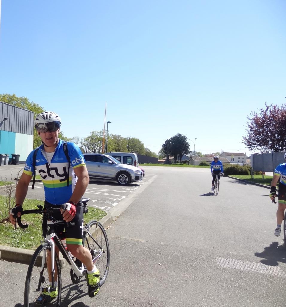 09.04.2017 Brevet 150 km - Arrivée 1