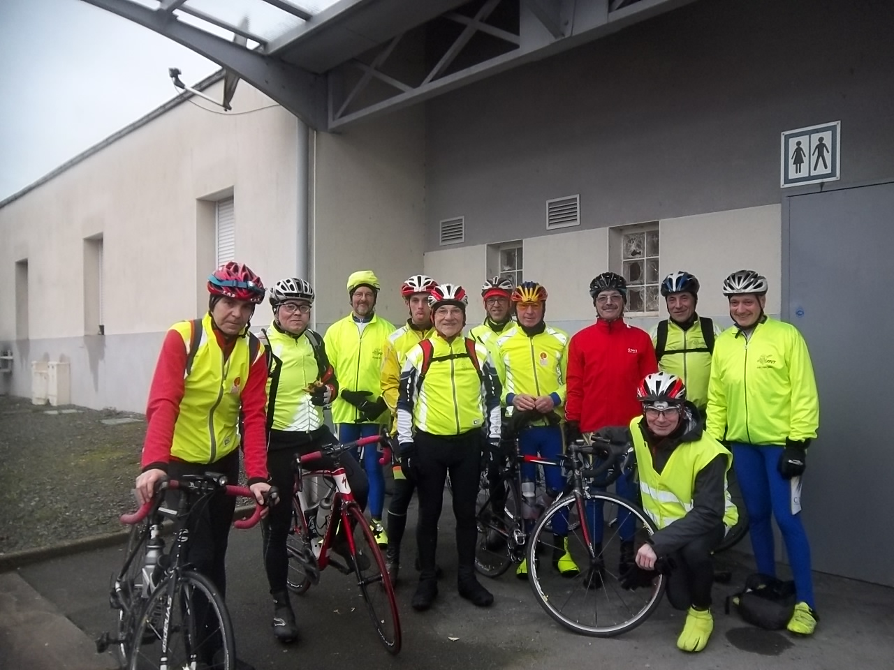 Rencontre Dodécaudax du 05/03/2016 - pause à Saint-Michel-Mont-Mercure
