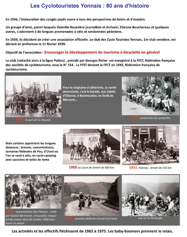 Historique 1939 1960 1