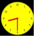 Horloge 8h30 1