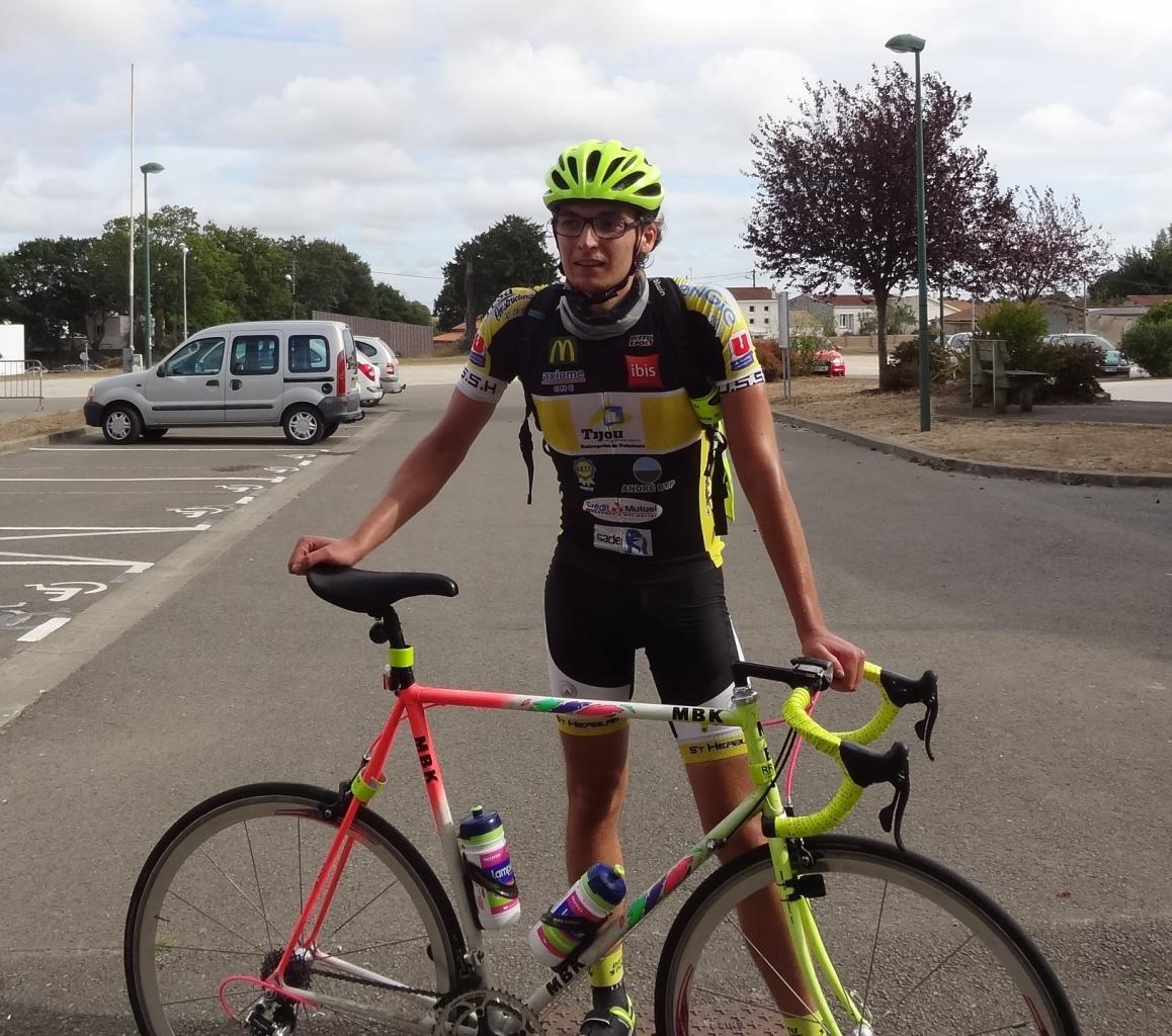 Venu de Nantes à vélo, retour à Nantes en vélo. (soit 360 km)