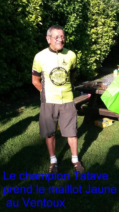 14-Tatave reçoit le maillot jaune