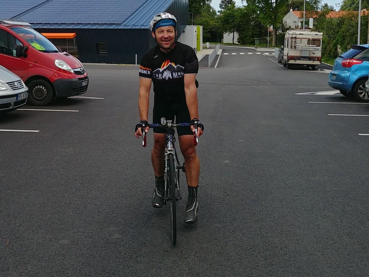 7 - Arrivée du 9ème cyclo à 17h02