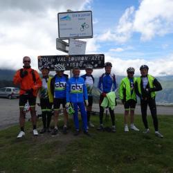 Au sommet du col du Val Louron Azet
