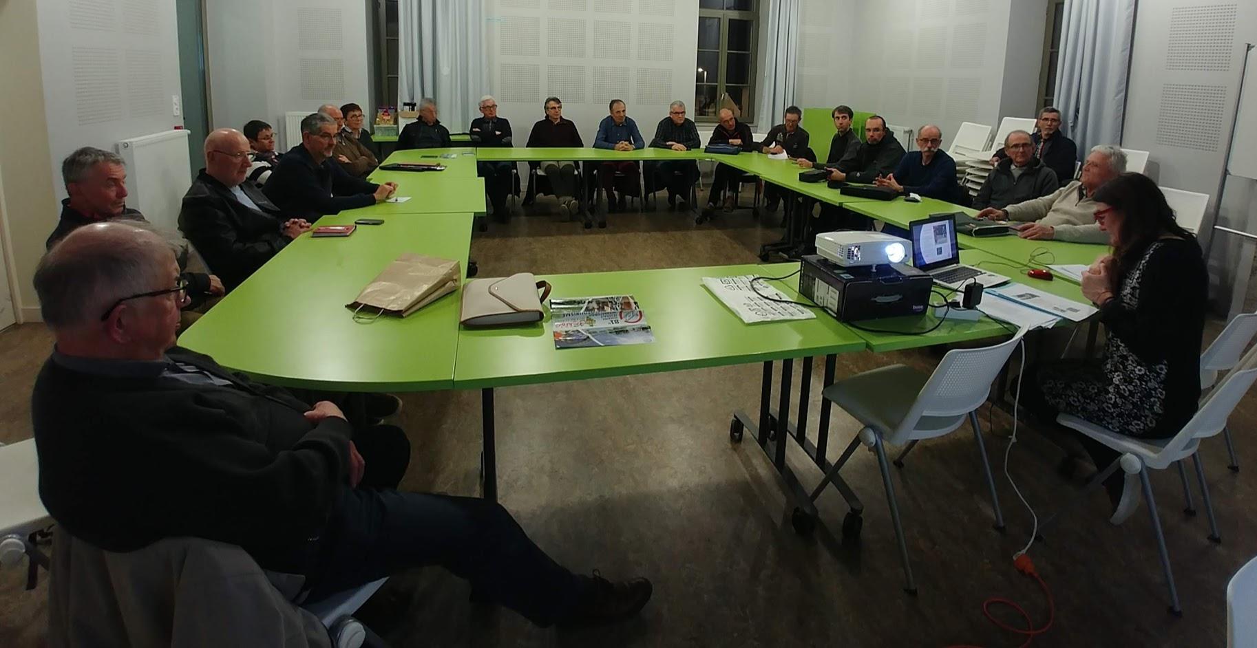 Presentation de la FFCT le 05 03 2019 par M.H.CHAMPAIN