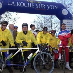 Téléthon défi cycliste 6 12 2005
