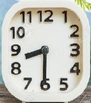 Horloge 8h30